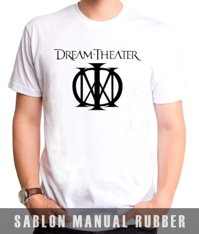 Kaos Sablon Dream Theater 3