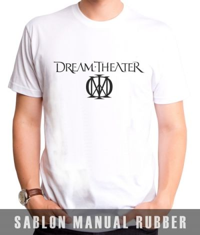 Kaos Sablon Logo Dream Theater
