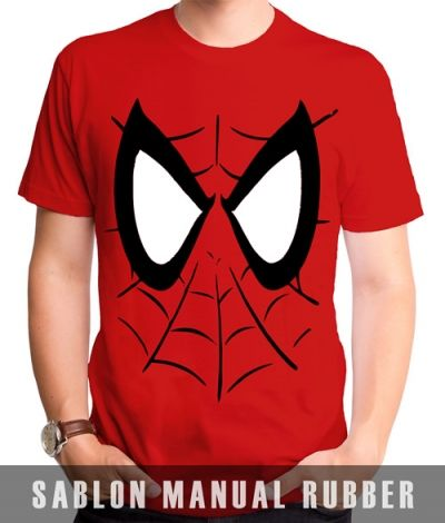 Kaos Sablon Spiderman 9