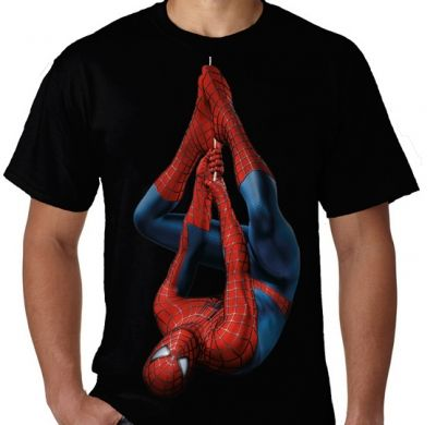Kaos Spiderman Unik 1
