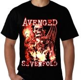 Kaos Avenged Sevenfold 80 - Nightmare