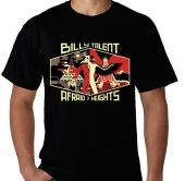 Kaos Billy Talent - Afraid Of Heights Tour 1