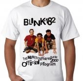 Kaos Blink 182 - The Mark, Tom And Travis Show Tour