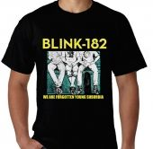 Kaos Blink 182 - We Are Forgotten Young Suburbia