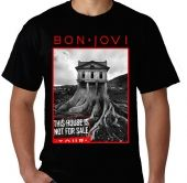 Kaos Bon Jovi - This House Is Not For Sale Tour 1