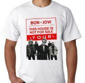 Kaos Bon Jovi - This House Is Not For Sale Tour 2