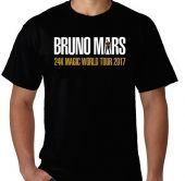 Kaos Bruno Mars - 24K Magic World Tour 2