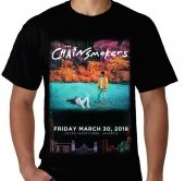 Kaos Chainsmokers - Live in Indonesia
