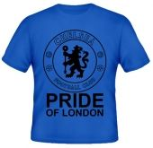 Kaos Chelsea Siluet Pride Of London