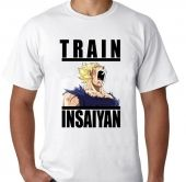 Kaos Dragon Ball Train insaiyan