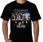 Kaos Foreigner - Foreigner Cheap Trick 40th Anniversary Summer Tour 2017