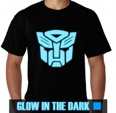 Kaos Glow In The Dark Autobot
