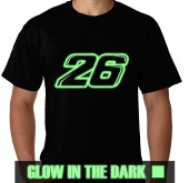 Kaos Glow In The Dark Dani Pedrosa