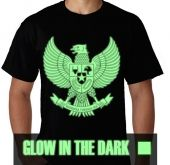 Kaos Glow In The Dark Garuda
