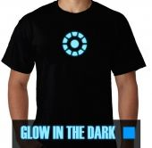 Kaos Glow In the Dark Iron Man Arc Reactor 1