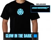 Kaos Glow In the Dark Iron Man Arc Reactor 2