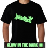 Kaos Glow In The Dark Logo Judas Priest