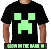 Kaos Glow In The Dark Minecraft 2