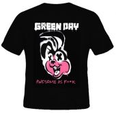 Kaos Green Day Awesome as F**k 3