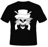 Kaos Guns n' Roses Logo Black n White 1