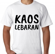 Kaos Lebaran simple