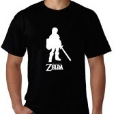 Kaos Legend of Zelda Siluet