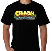 Kaos Logo Crash Bandicoot 1