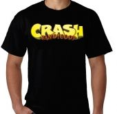Kaos Logo Crash Bandicoot 2