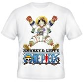 Kaos Luffy One Piece 1