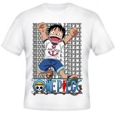 Kaos Luffy One Piece 4