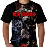 Kaos Metal Gear Solid Full Print