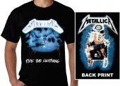 Kaos Metallica Ride the Lightning