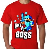 Kaos Minecraft Boys Like A Boss