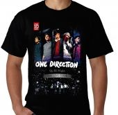 Kaos One Direction - Up All Night Tour