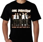 Kaos One Direction - Where We Are Tour