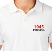 Kaos Polo 1945 Indonesia