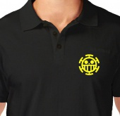 Kaos Polo Logo Trafalgar Law