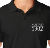 Kaos Polo Tulisan Madrid 1902
