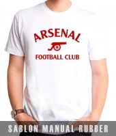 Kaos Sablon Asenal Football Club