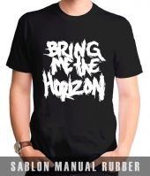 Kaos Sablon  Bring Me The Horizon 1
