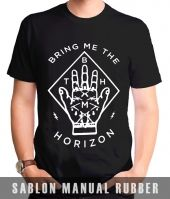 Kaos Sablon  Bring Me The Horizon 2