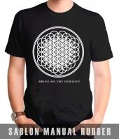 Kaos Sablon Bring Me The Horizon Logo Sempiternal 2