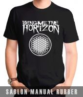 Kaos Sablon  Bring Me The Horizon Logo Sempiternal