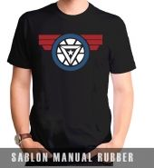 Kaos Sablon Captain America: Civil War 2