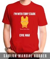Kaos Sablon Captain America: Civil War 3