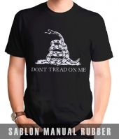 Kaos Sablon Dont Tread on Me