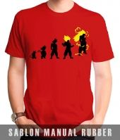 Kaos Sablon Dragon Ball 2