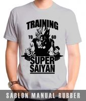 Kaos Sablon Dragon Ball
