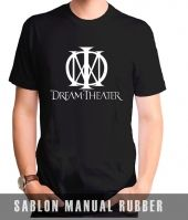 Kaos Sablon Dream Theater 2