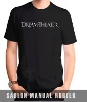 Kaos Sablon Dream Theater 4